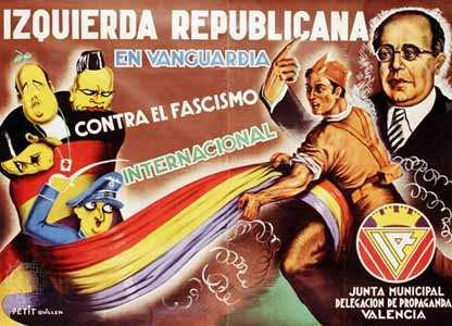 1936:! Three year Spanish Civil War.