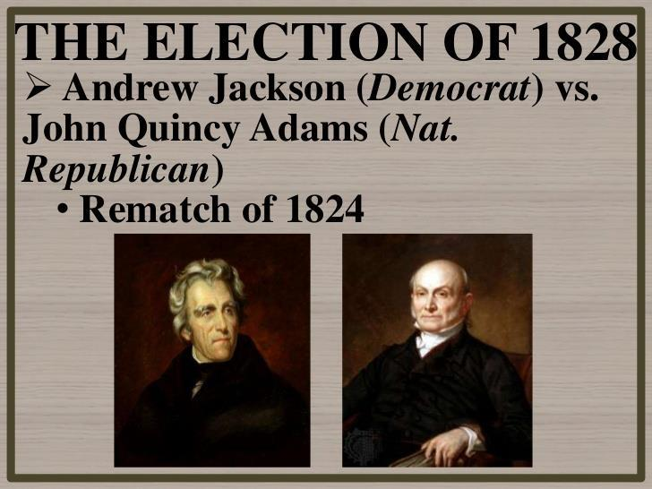 The presidential campaign of 1828 = One of the dirtiest in U.S.
