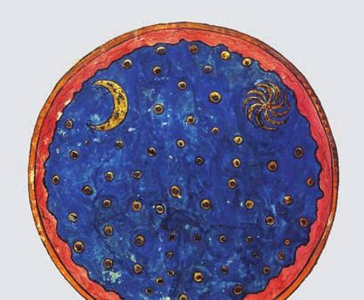 Picture of night sky from medieval manuscript 3.