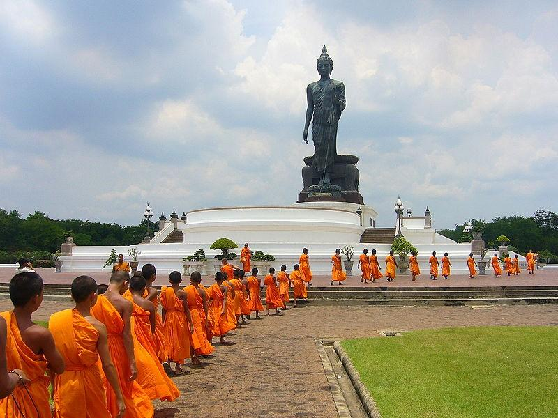 Buddhism and Society Buddhist reject the caste system Monks and