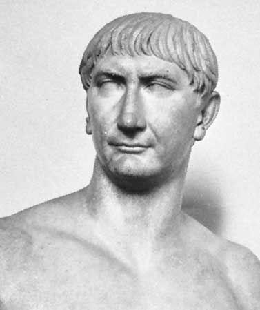FOUR GREAT EMPERORS -Trajan (98-117 CE) Commander born in spain