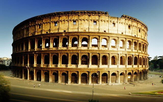 Roman influences are seen in the arches, domes, and vaults of many modern churches,