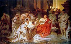 FALL OF THE FIRST ROMAN REPUBLIC - Julius Caesar VS.