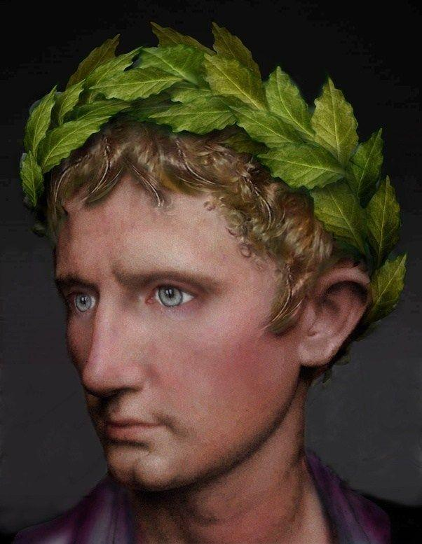 Julius Caesar. Ruled from 31 BCE to 14 BCE.