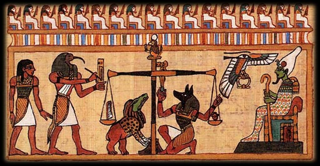 Egyptian Religion Polytheistic Continued to culture a belief in the afterlife Your actions are weighed