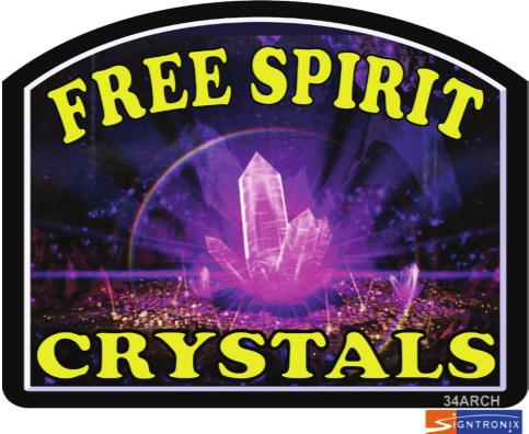 "Free Spirit Crystals ""The Gateway"" 4763 N. 124th St. www.freespiritcrystals.com Mon - Fri: 11:00-6:00 Butler, WI 53007 freespiritcrystals@gmail.com Saturday: 10:00-4:00 262-790-0748 www."
