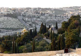 Visit the Chapel of the Ascension (Acts 1:9-11) on the peak of the Mount of Olives and the Convent of Pater Noster where the Lord s Prayer is displayed in 110 languages.