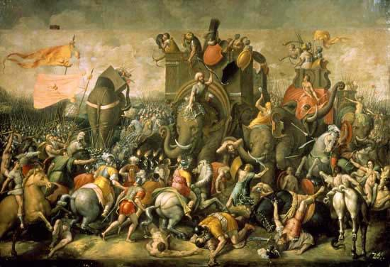 Hannibal s attack during the Second Punic War Over the next fifty years, Carthage rebuilt its economy, but did not break the peace of 202 B.C. However, Rome saw Carthage s recovery as a threat to its power and allies in the Mediterranean.