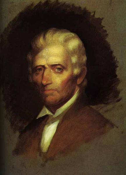 Early pioneer, Daniel Boone, helped in the settlement of Kentucky by establishing the