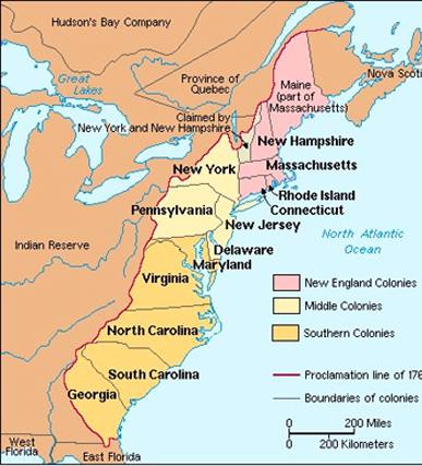 Early Years By 1775, Great Britain ruled 32 colonies in North America (Only 13 revolted! :0 ) 1775 population: 2.
