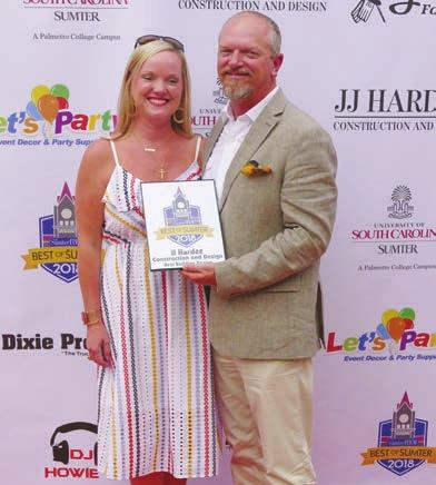THE SUMTER ITEM LOCAL FRIDAY, JUNE 8, 2018 A5 First-ever Best of Sumter celebration The Sumter Item held its first-ever Best of Sumter winners celebration on Tuesday at La Piazza in