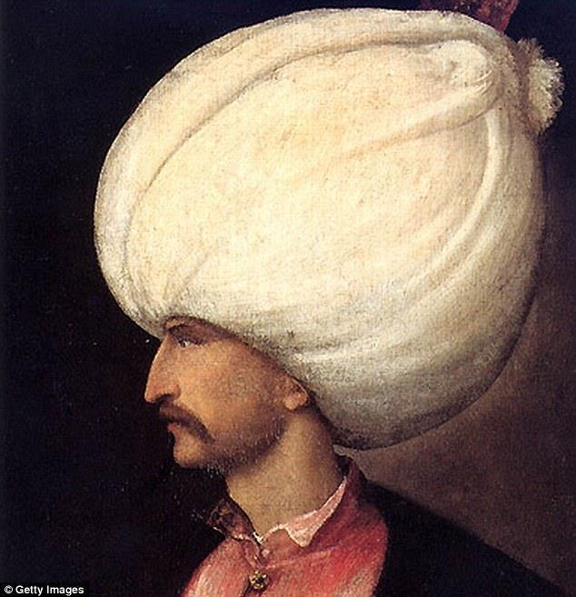 SULEYMAN THE LAWGIVER AKA THE MAGNIFICENT 1494-1566 His hats were off the charts Reigned over empire at its maximum size. His armies made it in 1526 almost to the gates of Vienna.