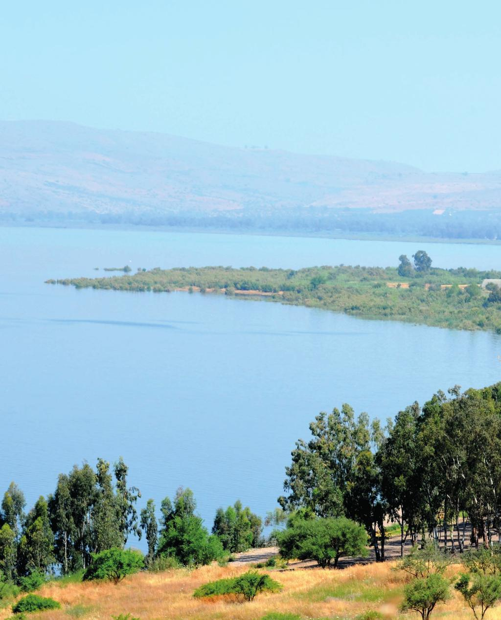 Sea of Galilee And when they had sent away the multitude, they took Him even as He was