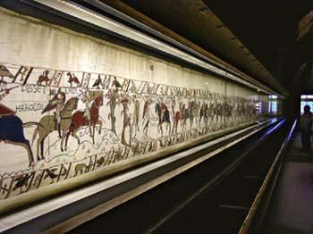 The Bayeux Tapestry (done by women) is 230 feet long, and 20