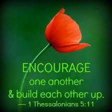 iii) It helps to give comfort to others It is going to be OK The Apostle Paul wrote, Therefore comfort each other and edify one another, just