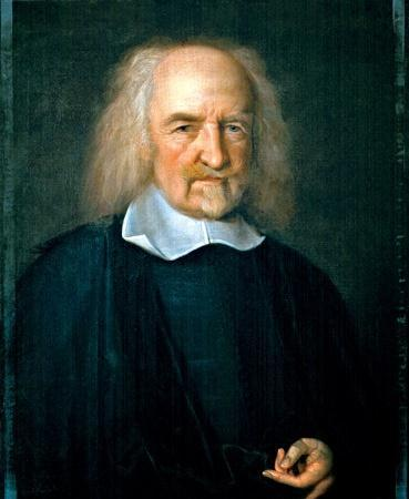 A. Thomas Hobbes wrote the