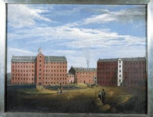 Industry Samuel Slater, first textile mill 1790 1813 Boston Manufacturing Company, Lowell Mill Middlesex