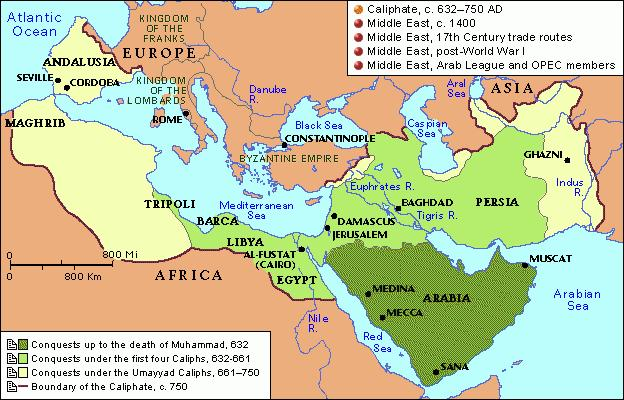 Expansion Many clan fought each other Clans were unified under Islam Began military attacks against neighboring people Defeated Byzantine area of Syria