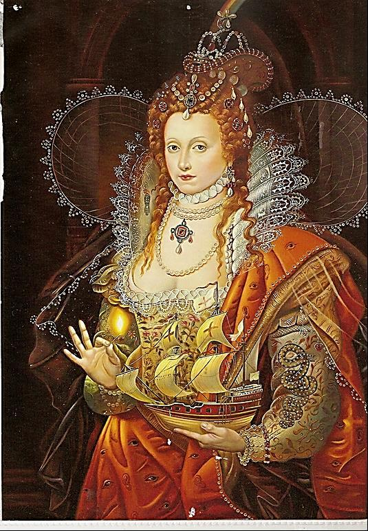 Elizabeth I The goddess of the Reformation. The Virgin Queen- married to England. The most remarkable woman-ruler in history who gave her name to an age.