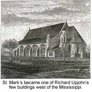 Mark s members would settle only for the nation s leading church architect Richard Upjohn in New York City. St.