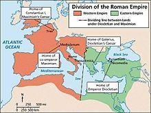 Where did the Byzantine Empire come from?