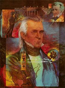 James Polk Americans who believed in Manifest Destiny thought the United States was clearly meant to expand