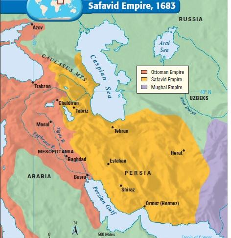 The Decline of the Safavid Empire Like the Ottomans, Shah Abbas blinded or killed his most capable sons in order to keep power As a