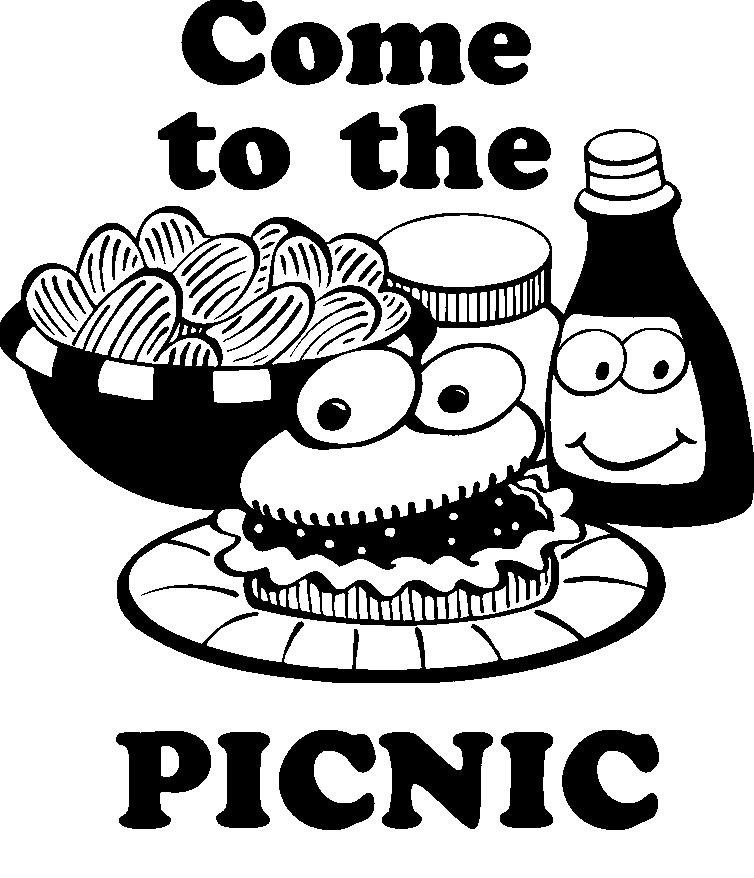 Family Mass takes place at 10:00 AM and the picnic begins right after Mass what a wonderful way to continue our celebration of community. Hamburgers, Hot Dogs and beverage are provided.