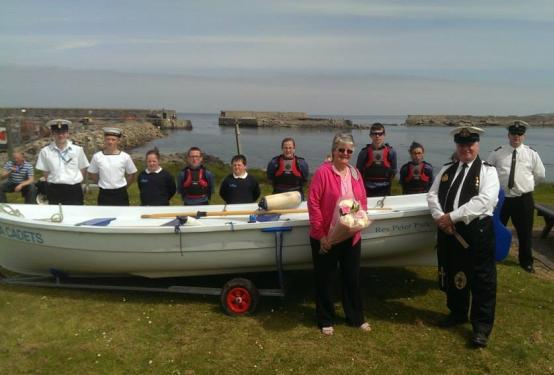 Fraserburgh and district Sea Cadets 8th June 2014 Would like to thank Rev Peter Park for his hard work, guidance and enthusiasm towards our unit over the years as our chaplain.