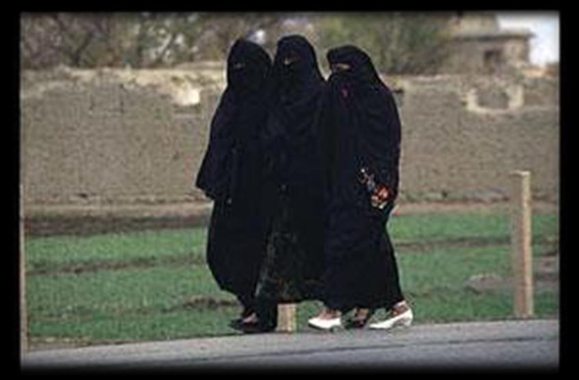 Muslim women were veiled and secluded as they had been previously in the Byzantine and the Sassanid Empires.