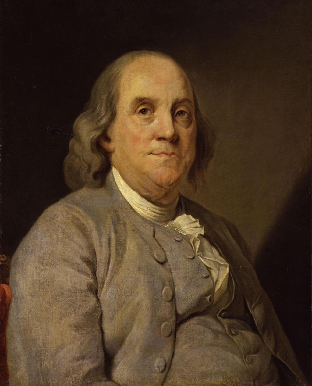 "Benjamin Franklin (1706-1790) Distinctly American Symbol of social mobility & individualism ""In Franklin could be merged the virtues of"