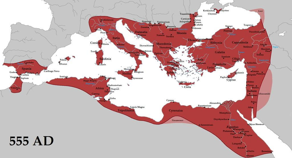 The Byzantine Empire under Justinian One of the great rulers of the Byzantine Empire was Justinian I, who came to power in 527.