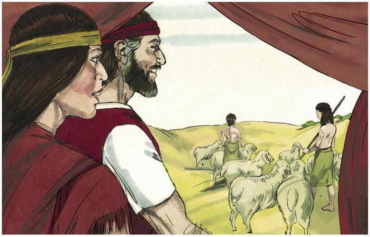 After Moses killed the Egyptian & fled to Midian he married a