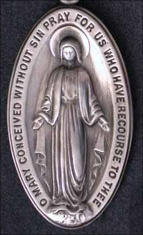 The Miraculous Medal O Mary conceived without sin, Pray for us who have recourse to you. The Blessed Mother continues to give us this medal and this message.