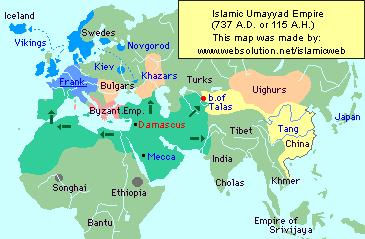 Expansion Under the In 661, the Umayyads family won a power struggle and built a great empire.