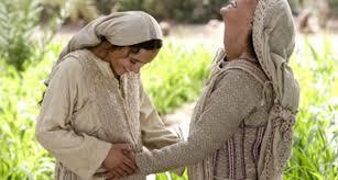 Joy in the New Testament: Joy of the Gospel Rejoice is the angel s greeting to Mary (Lk 1:28) Mary makes John leap for joy in his mother s womb (Lk 1:41) Mary s