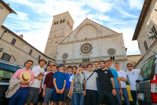 Program Overview Catholica Summer Program is an immersion program in Rome, Italy for boys aged 14-17. With a campus just next to St.