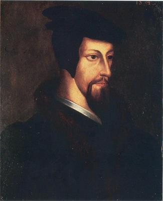 John Calvin was a Frenchman who also criticized both Luther and the Catholic Church. Calvin fled France and set up a theocracy in Geneva, Switzerland.