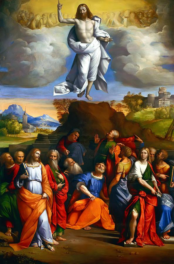 Readings: The Ascension of the he Lord As the disciples were watching, Jesus was lifted up up. Acts 1.