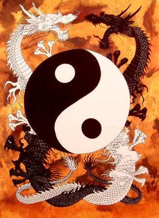 Yin and Yang Balancing and harmonizing opposites in nature.