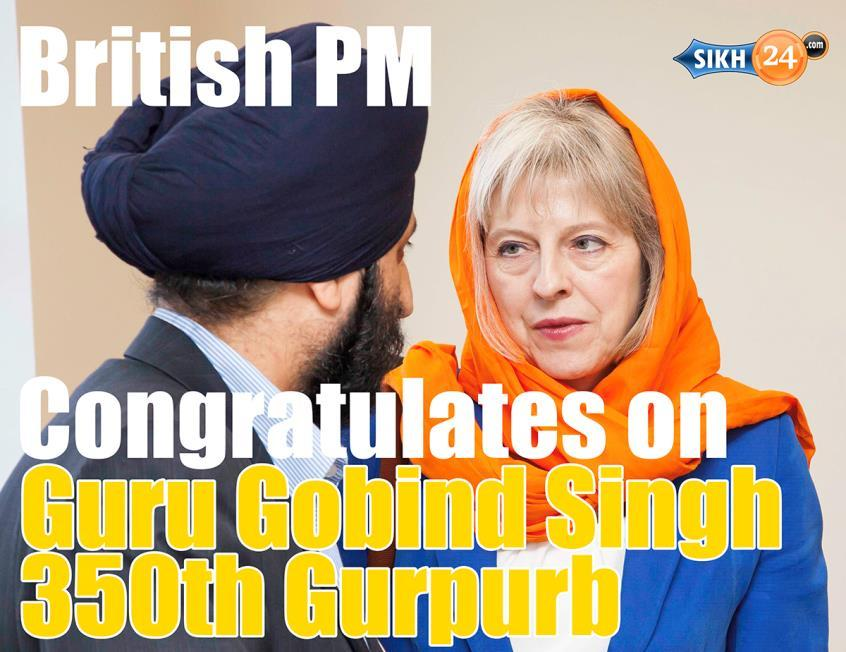 The birthday of Guru Gobind Singh, founder of the