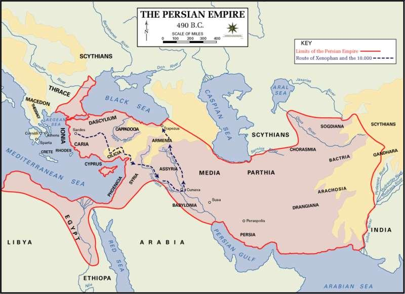 2. PERSIA ***NOTE: THERE WERE FOUR PERIODS OF