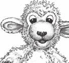 You may wish to decorate the shapes with markers or crayons. Cuddles: Bring out Cuddles the Lamb. Go through the following script, and then put Cuddles away out of sight of the children. Hi!