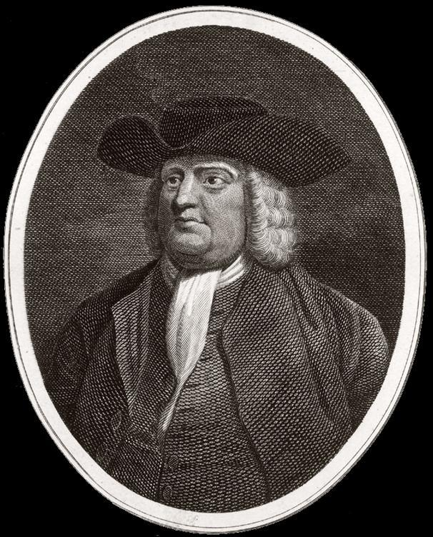 Land will be granted to William Penn His father loaned the