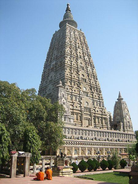 Mahabodhi temple in India - Where