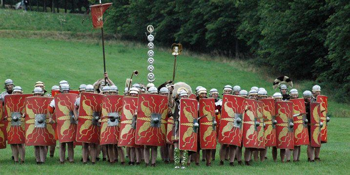 5. LET S FIGHT ABOUT IT The Roman army was once unbeatable with their highly trained, disciplined and loyal Legionnaire and battle tactics like the Phalanx formation The military was needed to keep