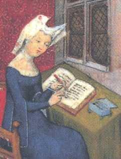 Intellectual & Artistic Contributors Christine de Pizan