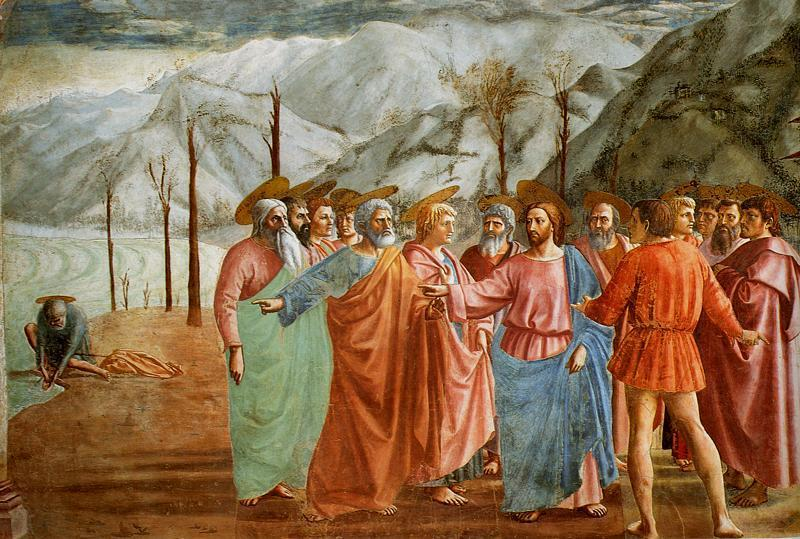 Intellectual & Artistic Contributors Masaccio (1401-1428) Famous work = Known