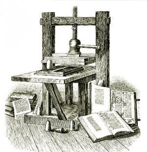 1439, and global inventor of the printing press
