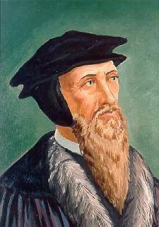 passed on to John Calvin who held beliefs similar to Luther, however, he believed God had determined in advance